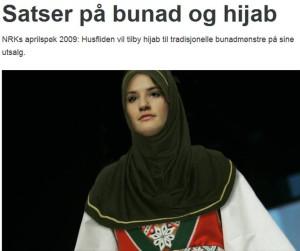 Smilerynker, bunad og hijab
