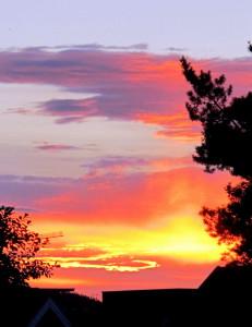 smilerynker, kristindaly, solnedgang