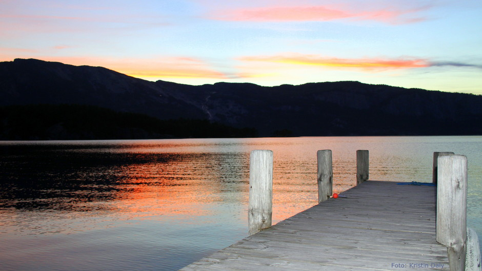 Solnedgang, utsikt uten småkryp, vet du hvor dine vaner kommer fra