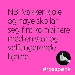 #rosapønk, kathrine Aspaas, Smilerynker