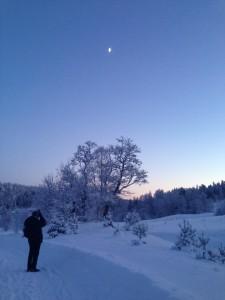 Losby Paul nymåne blåtimen
