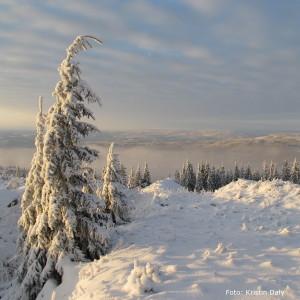 snø og utsikt, kristin daly, smilerynker
