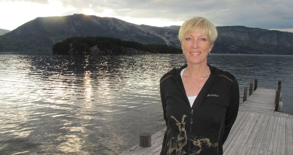 Kristin Daly ved Nisser på Lia