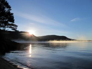 Morgenfrost på Nisser