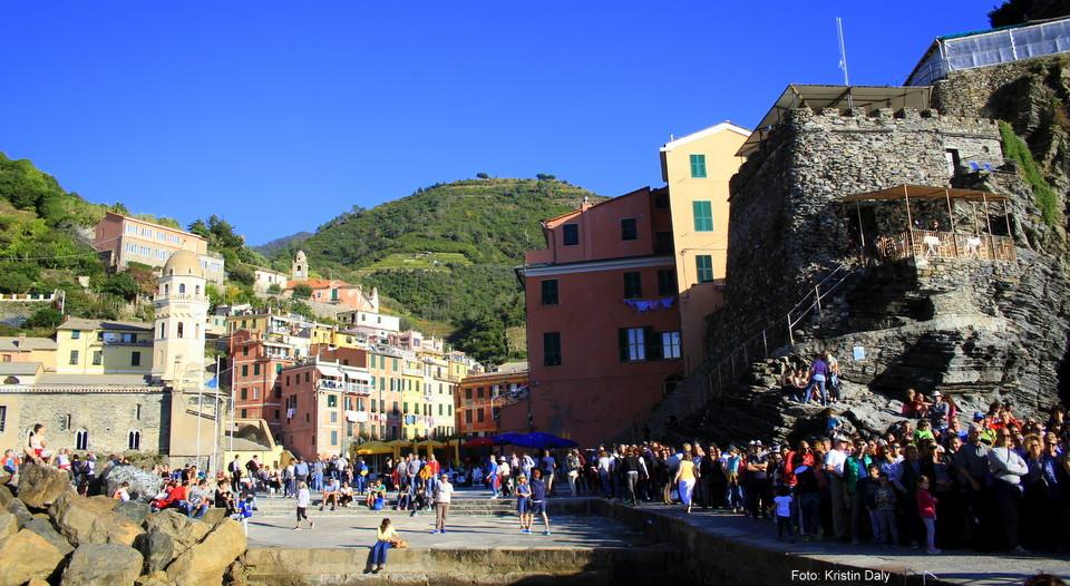 Vernazza, Cinque Terre, Italia, ferie