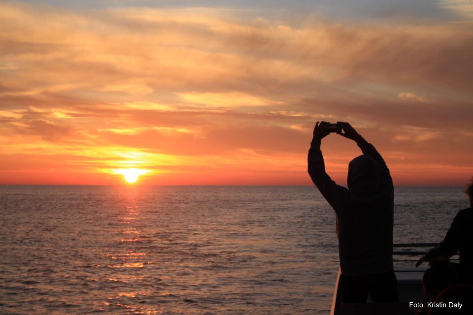 solnedgang, Cinque Terre, Italia, ferie