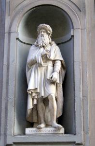 Leonardo da Vinci, Firenze