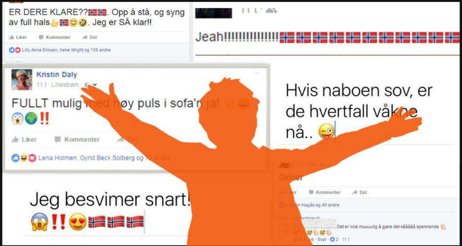 Vm finale Norge-Frankrike 2017