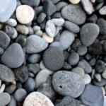 Island, Reynisfjara, svart stein, Kristin Daly