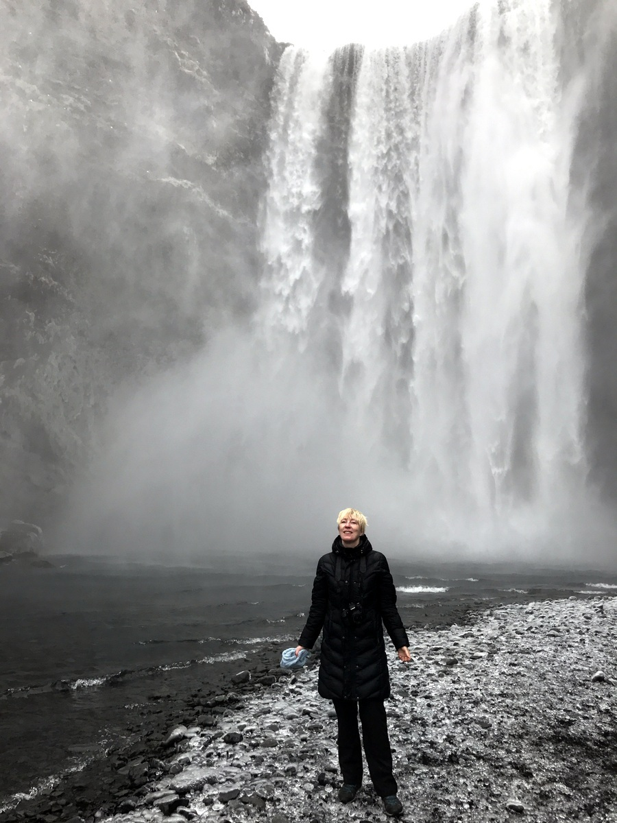 Island Skogafoss Kristin Daly