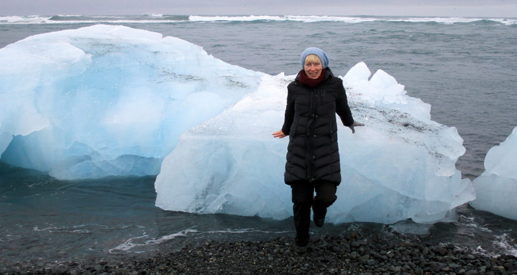 Island Jökulsárlón hav Kristin Daly