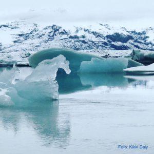 Island Jökulsárlón ishest, Kristin Daly