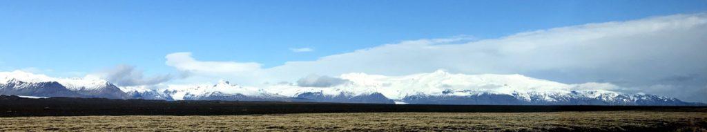 Island Vatnajökul avstand