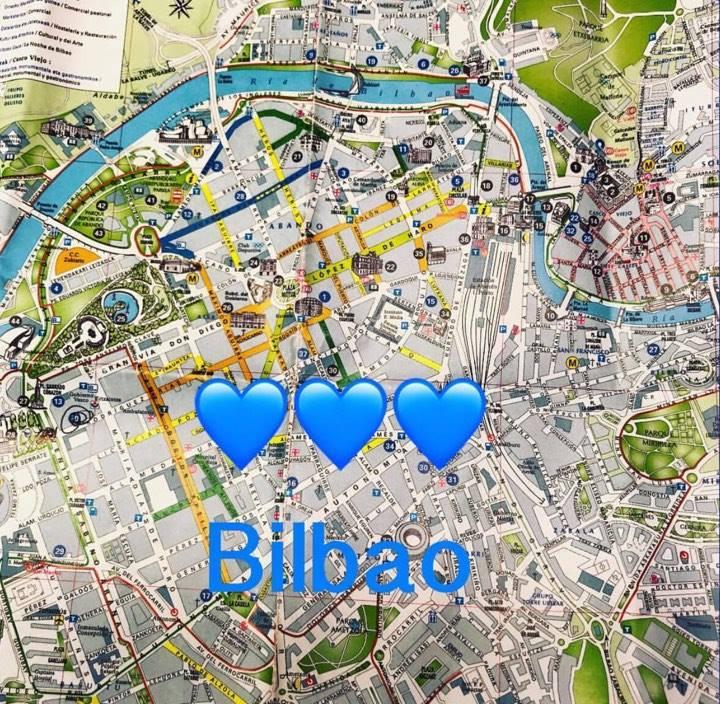 Bilbao kart, map, Kristin Daly