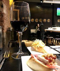 Bilbao, pintxo, rødvin, Kristin Daly