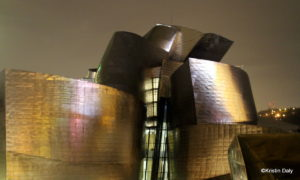 Bilbao, Guggenheim by night, Kristin Daly