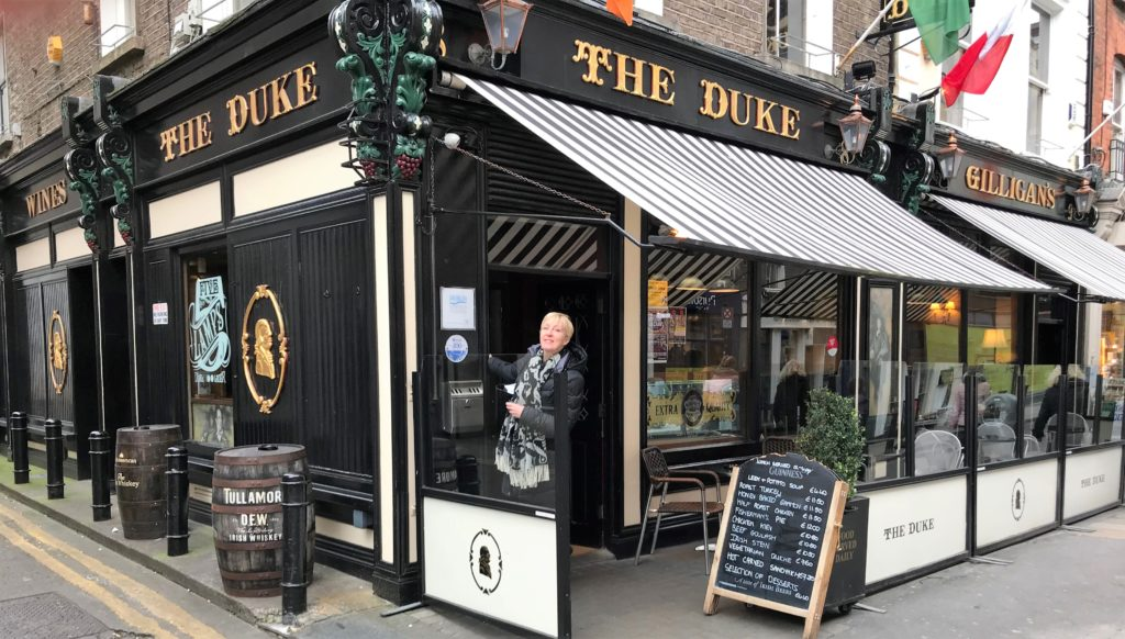 The Duke, pub, Dublin, smilerynker.no, Kristin Daly