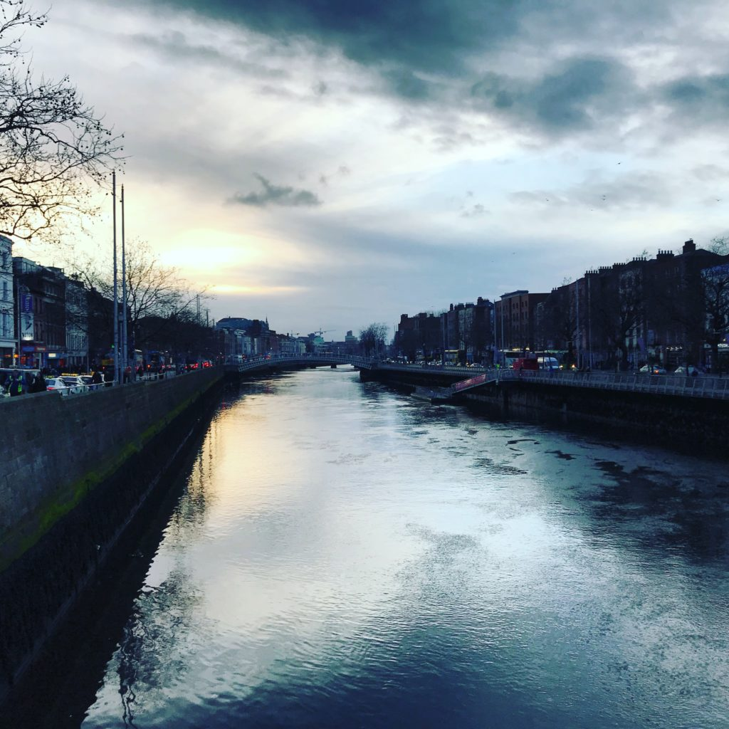 River Liffey, O'Connell Bridge, Dublin, smilerynker.no, Kristin Daly