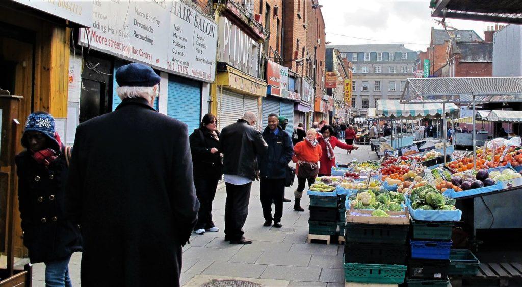 Moore street, Dublin, smilerynker.no, Kristin Daly
