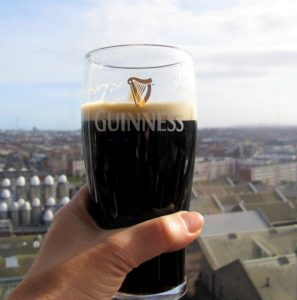 Guinness storehouse bar, Dublin, smilerynker.no, Kristin Daly