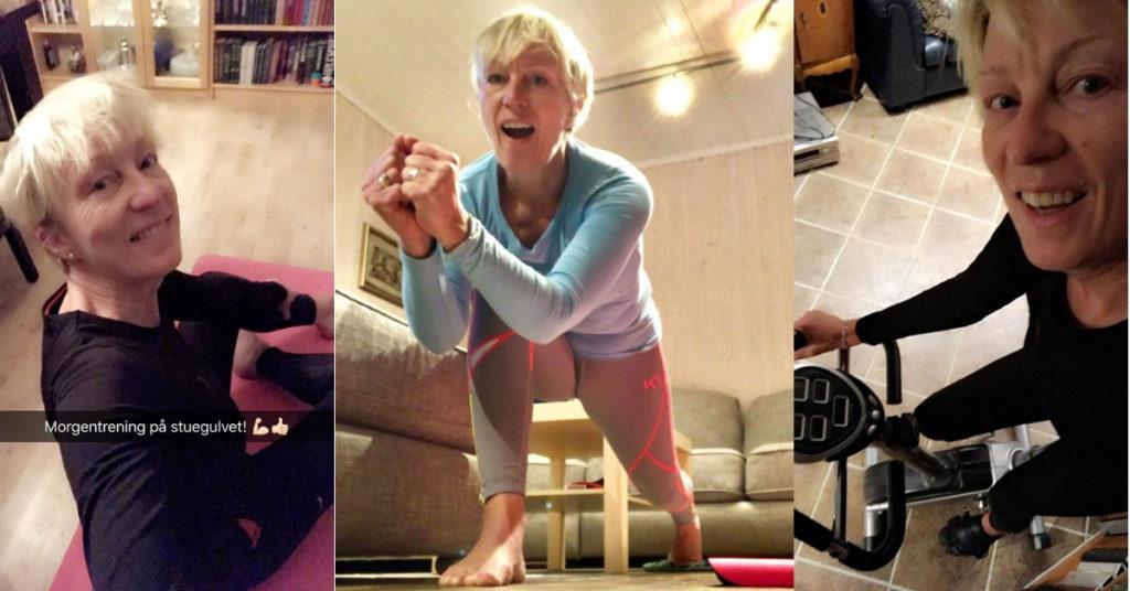 Treningsglede Smilerynker, Kristin Daly, NLP